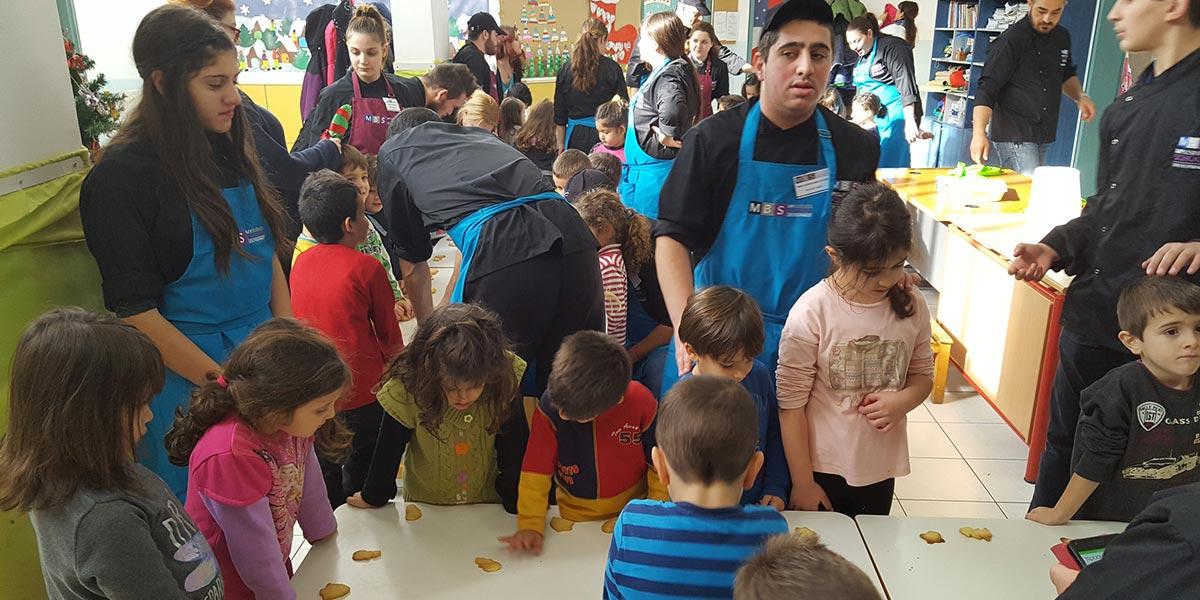 Χριστουγεννιάτικες Επισκέψεις σε σχολεία του Ρεθύμνου – Σαρακίνα 8o Νηπιαγωγίο 1
