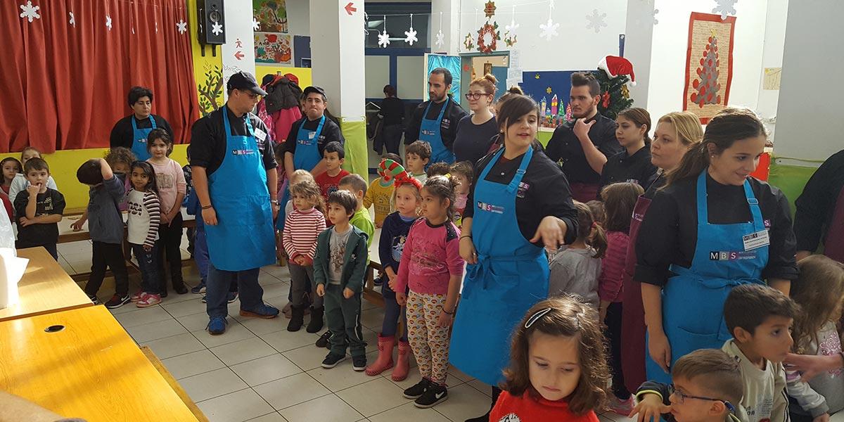 Χριστουγεννιάτικες Επισκέψεις σε σχολεία του Ρεθύμνου – Σαρακίνα 8o Νηπιαγωγίο 3