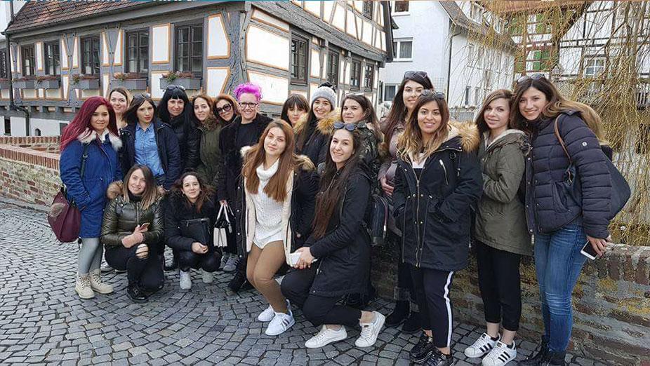 Ταξιδέψαμε στη Γερμανία με τα Τμήματα Αισθητικής 1