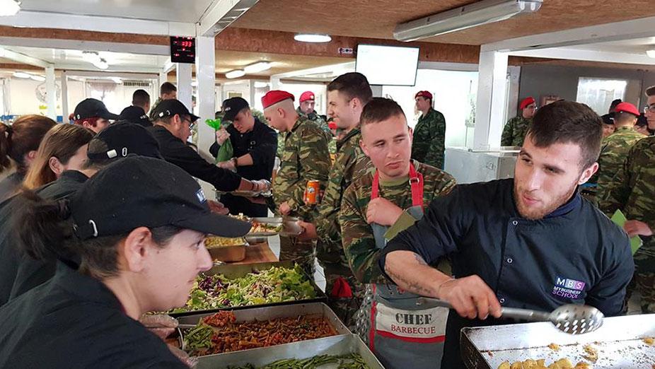 «Το ΙΕΚ MBS My Business School Μαγειρεύει στη Στρατιωτική Μονάδα 547 Α/Μ ΤΠ (Ρεθύμνου)